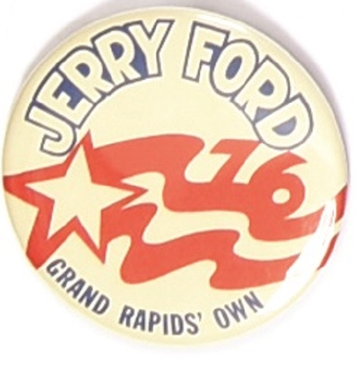 Jerry Ford Grand Rapids' Own