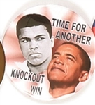 Obama, Ali Time for Another Knockout
