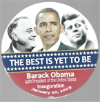 Obama, FDR, JFK Best is Yet to Come