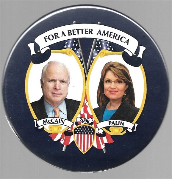 McCain, Palin for a Better America