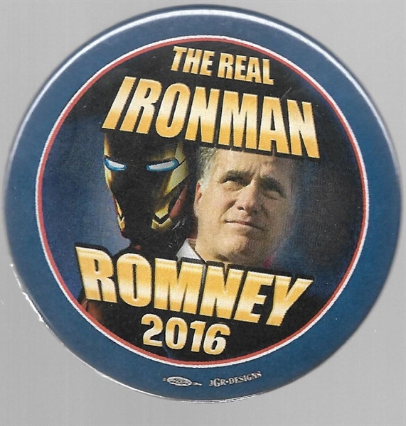 Romney the Real Ironman