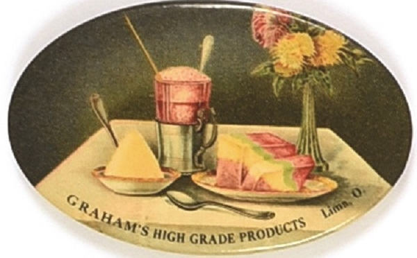 Graham High Grade Products Advertising Mirror