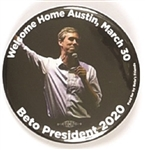 ORourke Welcome to Austin