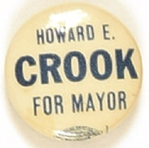 Crook for Mayor of Baltimore