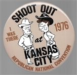 Shoot Out in Kansas City, Reagan Black Hat