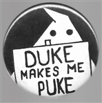 Duke Makes Me Puke