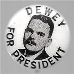 Dewey for President Smaller Celluloid