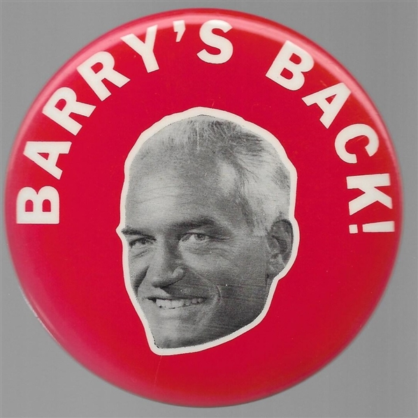 Barry's Back