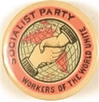 Socialist Party Workers of the World Unite Pink Color