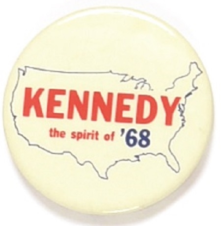 Kennedy the Spirit of '68
