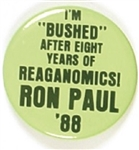 Ron Paul Anti Reaganomics