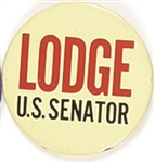 Lodge U.S. Senator, Massachusetts