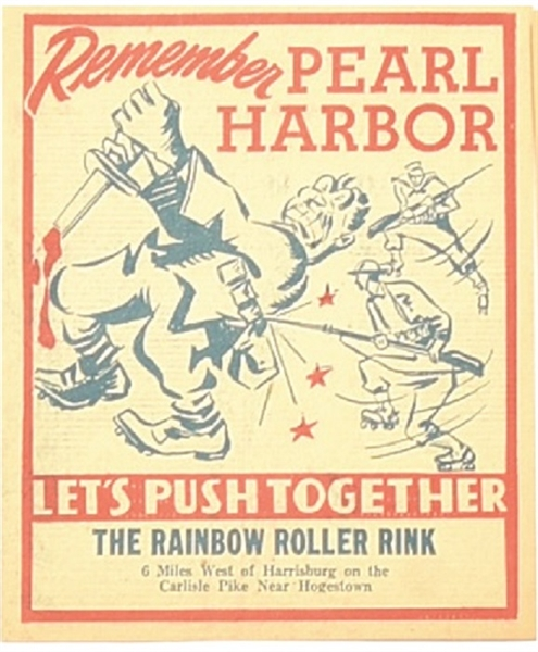 Remember Pearl Harbor Rainbow Roller Rink