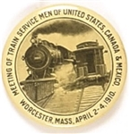 Train Service Men 1910 Massachusetts Meeting