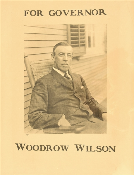 Woodrow Wilson for Governor