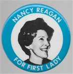 Nancy Reagan for First Lady