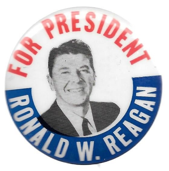 Reagan for President 1968 Celluloid