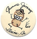 Gimme Jimmy, Carter Dancing Peanut Pin