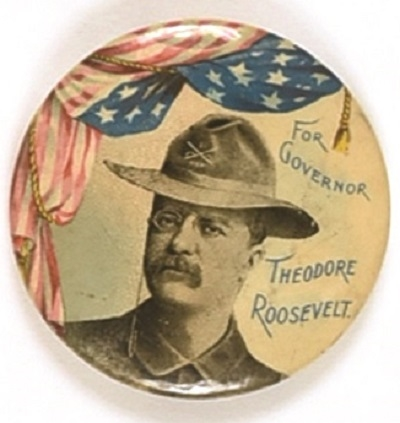Theodore Roosevelt Rough Rider for Governor