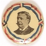 William Howard Taft Ribbon Design Scarce Celluloid