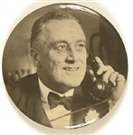 Franklin Roosevelt on the Phone Mirror
