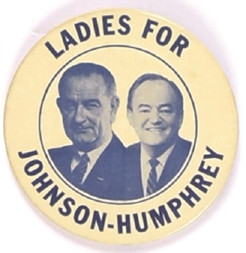 Ladies for Johnson-Humphrey, Blue Version