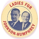 Ladies for Johnson-Humphrey, Red Version