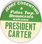 Palos Twp, Democrats Welcome President Carter