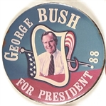 George Bush for President '88 California Pin