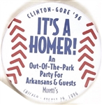 Clinton-Gore It's a Homer!