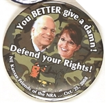 McCain, Palin Defend Your Rights Kansas Friends of the NRA