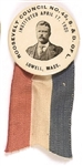 Theodore Roosevelt Lowell, Mass., Council Pin and Ribbon