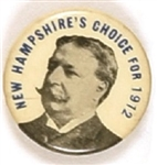 Taft New Hampshires Choice