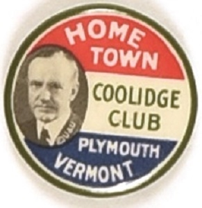 Coolidge Plymouth, Vermont, Home Town Club
