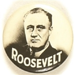 Franklin Roosevelt Striking Black, White Celluloid
