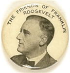 Friends of Franklin Roosevelt Celluloid