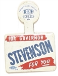 Stevenson for Governor Litho Tab