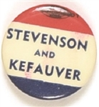 Stevenson and Kefauver RWB Celluloid