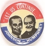 Johnson, Humphrey Let Us Continue Small Jugate