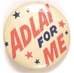 Adlai for Me Orange Version