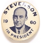 Stevenson for President 1960 Celluloid