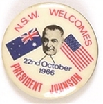 New South Wales Welcomes President Johnson