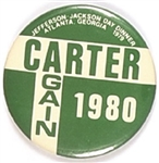 Carter Again, Atlanta Jefferson-Jackson Day Dinner Pin