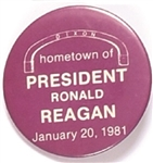 Dixon, Illinois, Hometown of President Reagan