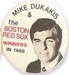 Dukakis Boston Red Sox