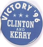 Clinton, Kerry Massachusetts Victory 96
