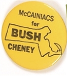 Massachusetts McCainiacs for Bush, Cheney