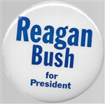 Reagan, Bush Bucks Co. 4 Inch Celluloid