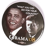 Obama, JFK What You Can Do for Your Country