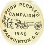 Poor People's Campaign Horse and Wagon Pin